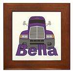Trucker Bella Framed Tile