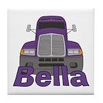 Trucker Bella Tile Coaster