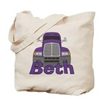 Trucker Beth Tote Bag