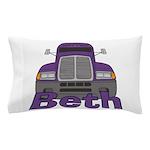 Trucker Beth Pillow Case
