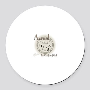 Seal of Azrael Round Car Magnet