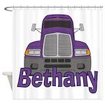 Trucker Bethany Shower Curtain