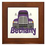 Trucker Bethany Framed Tile