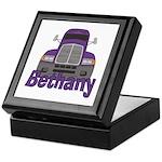 Trucker Bethany Keepsake Box