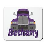 Trucker Bethany Mousepad