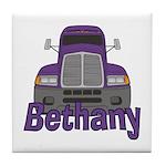 Trucker Bethany Tile Coaster