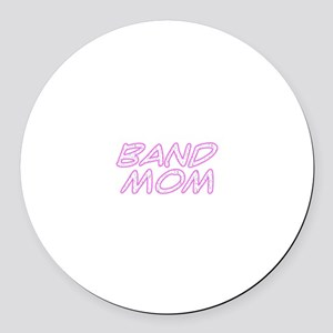 Band Mom Round Car Magnet