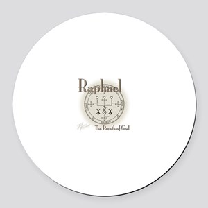 Seal of Raphael Round Car Magnet