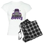 Trucker Betty Women's Light Pajamas