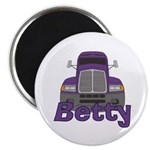 Trucker Betty Magnet
