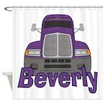 Trucker Beverly Shower Curtain