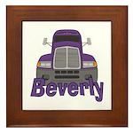 Trucker Beverly Framed Tile