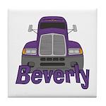 Trucker Beverly Tile Coaster