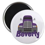 Trucker Beverly Magnet