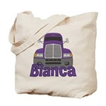 Trucker Bianca Tote Bag