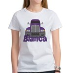 Trucker Bianca Women's T-Shirt