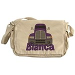 Trucker Bianca Messenger Bag