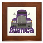Trucker Bianca Framed Tile