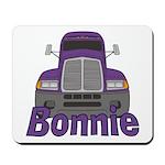 Trucker Bonnie Mousepad