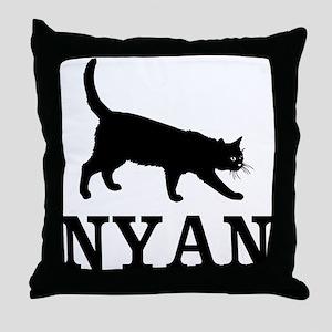 Nyan Cat Throw Pillow