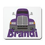 Trucker Brandi Mousepad
