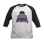 Trucker Brandy Kids Baseball Jersey