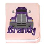 Trucker Brandy baby blanket