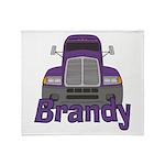 Trucker Brandy Throw Blanket