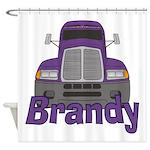 Trucker Brandy Shower Curtain