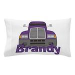 Trucker Brandy Pillow Case