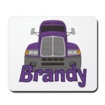 Trucker Brandy Mousepad