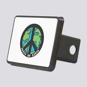 Peace on Earth. Rectangular Hitch Cover