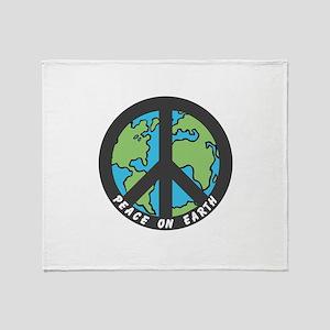 Peace on Earth. Throw Blanket