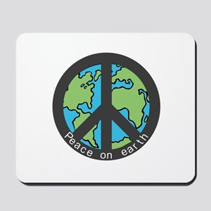Peace on Earth. Mousepad