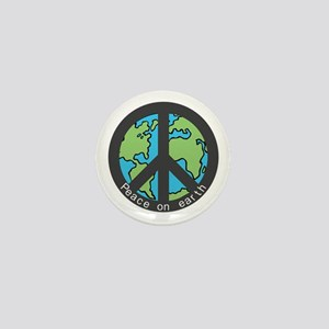 Peace on Earth. Mini Button