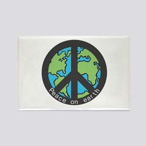 Peace on Earth. Rectangle Magnet