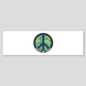 Peace on Earth. Sticker (Bumper)