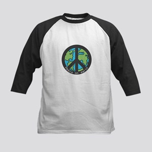 Peace on Earth. Kids Baseball Jersey