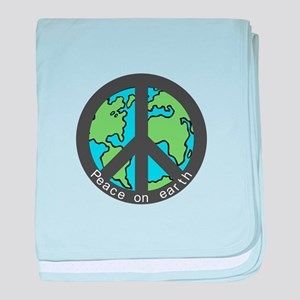 Peace on Earth. baby blanket