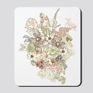 Wildflower Bouquet Mousepad
