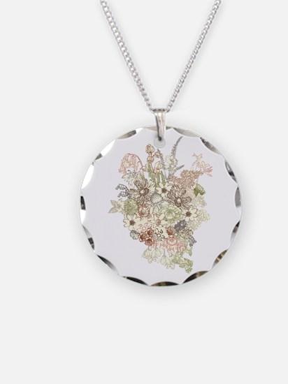 Wildflower Bouquet Necklace