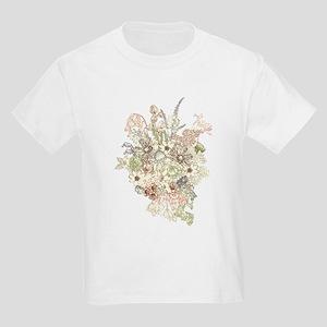 Wildflower Bouquet Kids Light T-Shirt