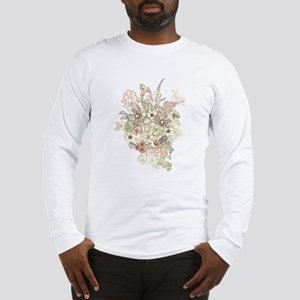 Wildflower Bouquet Long Sleeve T-Shirt