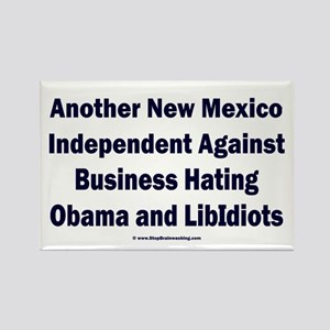 New Mexico Independent Rectangle Magnet