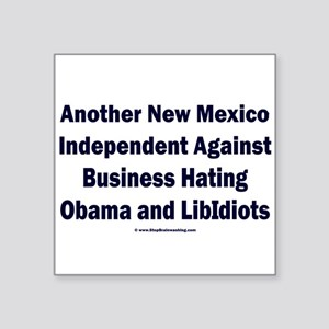 """New Mexico Independent Square Sticker 3"""" x 3"""""""