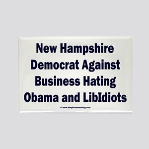 New Hampshire Democrat Rectangle Magnet