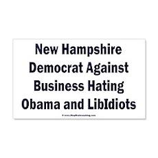 New Hampshire Democrat Wall Decal