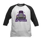 Trucker Brenda Kids Baseball Jersey