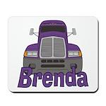 Trucker Brenda Mousepad