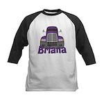 Trucker Briana Kids Baseball Jersey